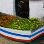 Boat , Paternoster, Art For Sale, Art By Bruce, Oil Painting by Bruce,