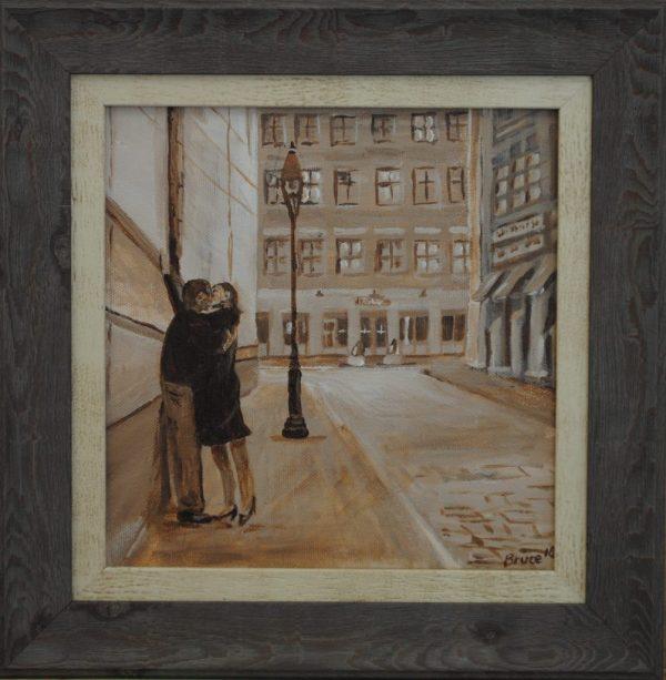 Kiss Me kate, Streetscape, Outside the Ritz, Art By Bruce