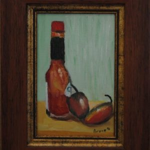 Tabasco, Oil Painting By Bruce, Art For Sale, Fire