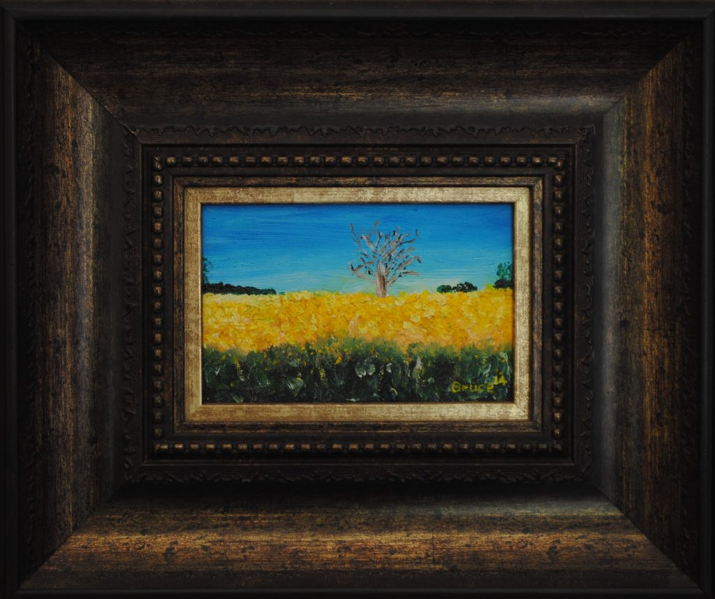 Canola Field, Art By Bruce, Bruce Andrew