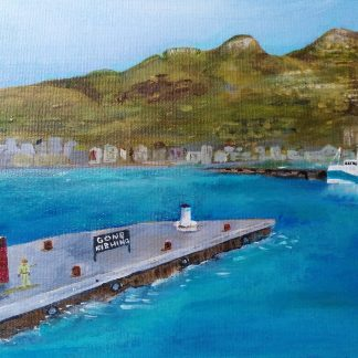 Hout Bay, Gone Fishing, Art By Bruce, Bruce Andrew
