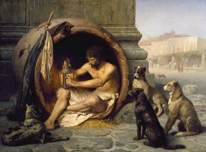Diogenes, artbybruce, Bruce Andrew