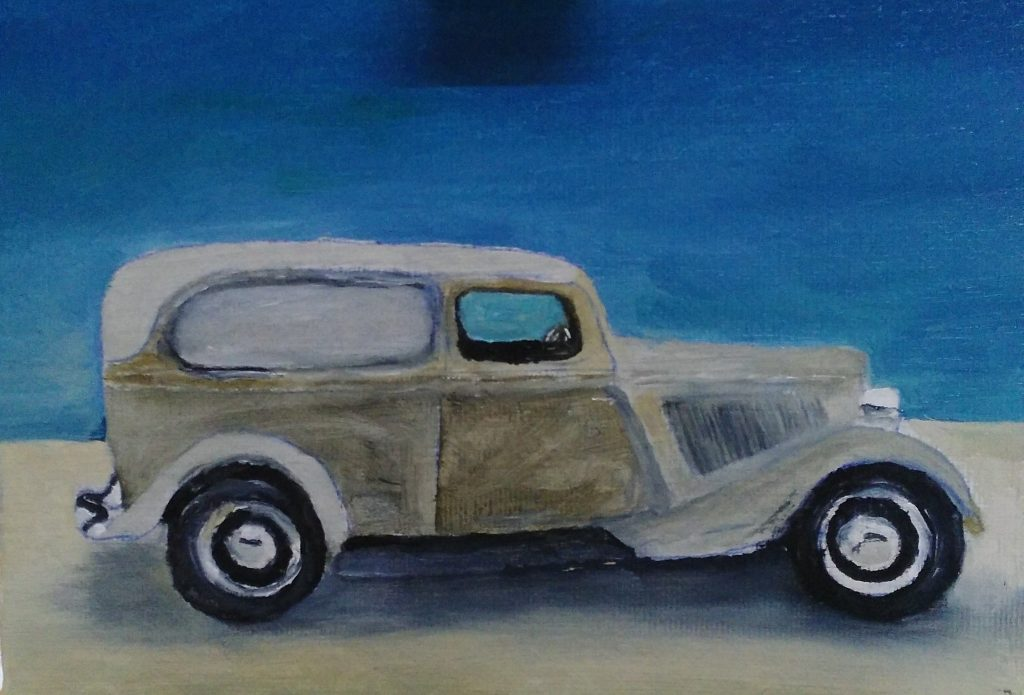 Art By Bruce 1933 Ford Sedan Delivery