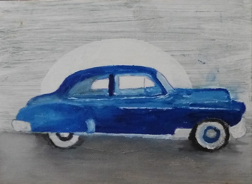 Art By Bruce - 1950 Chevrolet Deluxe