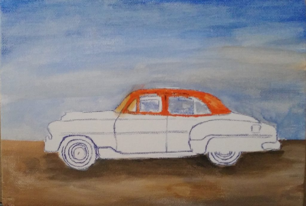 Art By Bruce - 1950 Chevrolet Deluxe - Grandpa's Chev