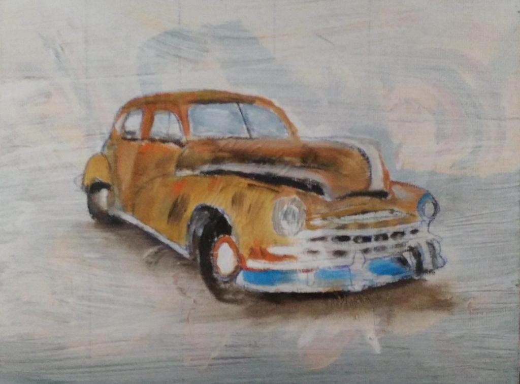 Art By Bruce - Pontiac Silver Streak