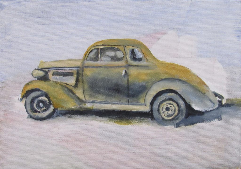 Artbybruce.co.za 1937 Chev Coupe
