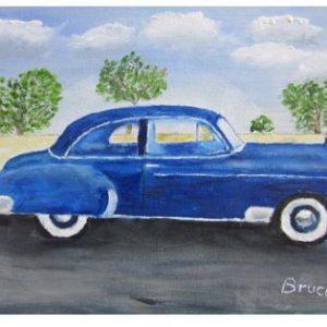 Art By Bruce - 1950 Chevrolet Deluxe