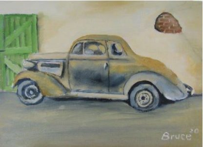 Art By Bruce - 1937 Chevrolet Coupe