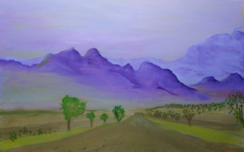 Art By Bruce - Namibia 4