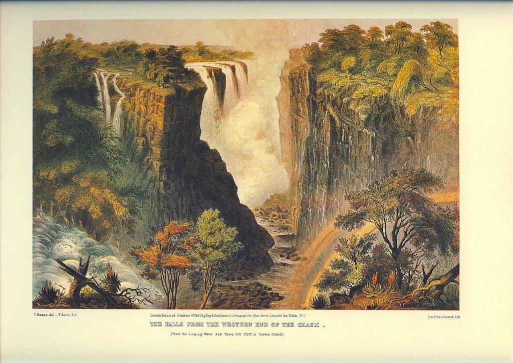 Victoria Falls - Thomas Baines