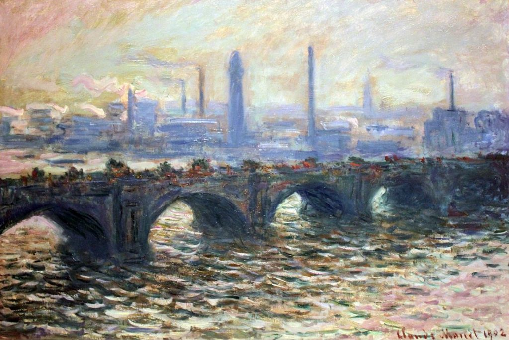Art By Bruce - Waterloo bridge - 1902 - Claude Monet
