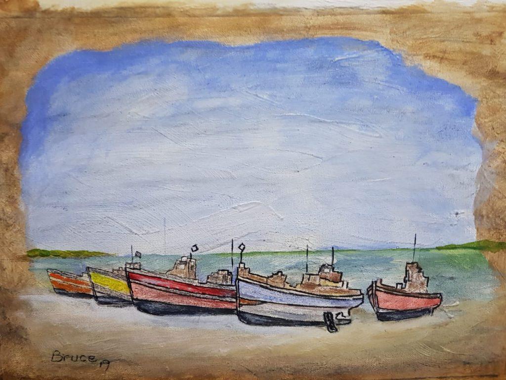Boats at Arniston