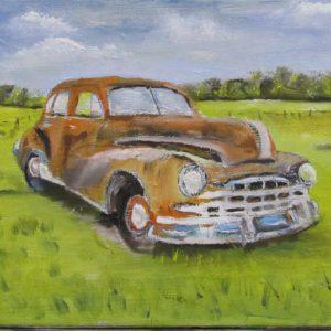 artbybruce.co.za 1948 Pontiac Silver Streak