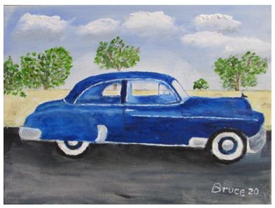 Art By Bruce - 1950 Chevrolet de Luxe